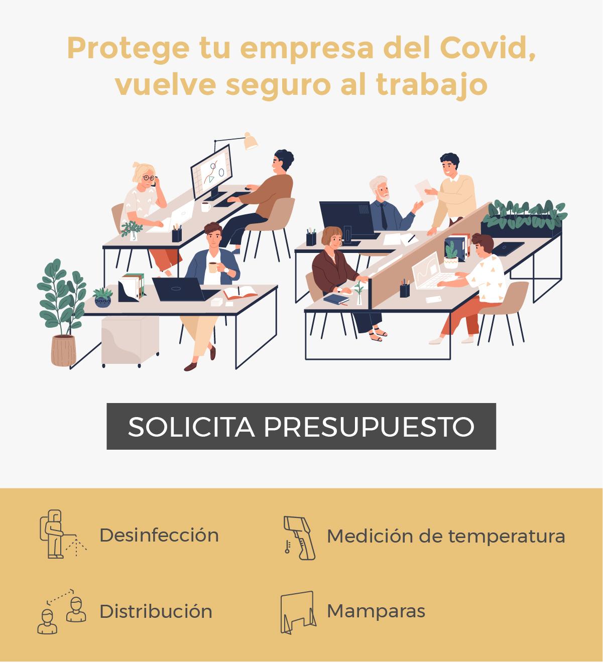 Protección de empresa de Covid - 19