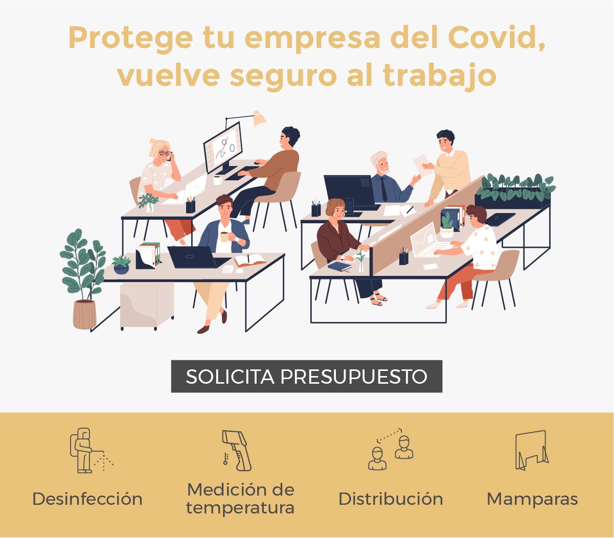 protege tu empresa del Covid - 19