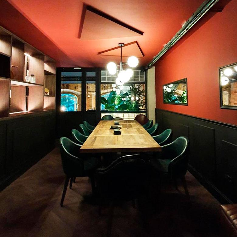 Proyecto reconstrucción de restaurante Punto y Coma