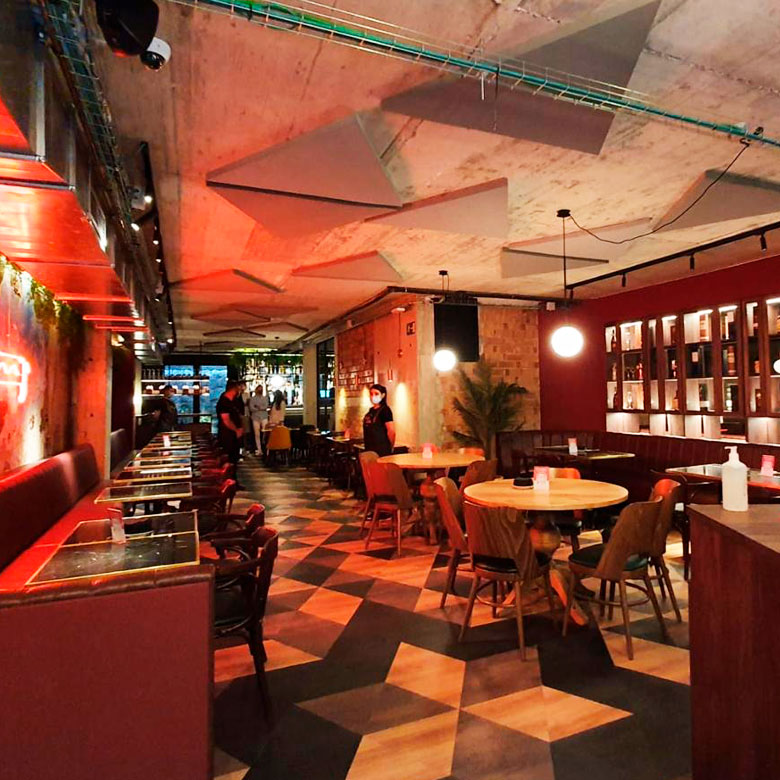 Restaurant Punt i Coma després de la reconstrucció
